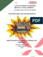 Uso Industrial de Explosivos