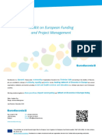 Toolkit on European Funding and Project Management