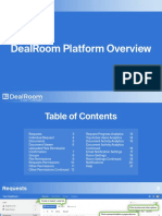 DealRoom M&A Software and Virtual Data Room Overview