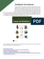 Curso botanica
