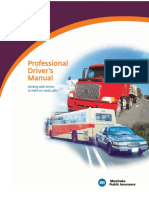 Professional Driver's Manual