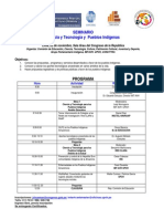 Programa Seminario Ciencia y Tecnologia
