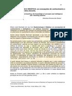 Epistemologia e Didatica José Nilson Machado