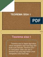 Teorema Sisa 1