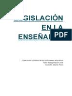 Seminario Legislación (Obs. y Análisis)