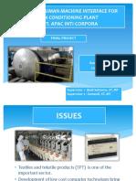HMI of Yarn Conditioning Plant
