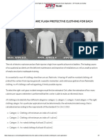 Determine the Right Arc Flash Protective Clothing for Each Application - SPI Health and Safety