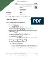MA6351 Formula