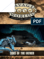 Savage Worlds Adventure Edition JumpStart - Sins of the Father