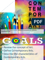 Definition and Functions of Art