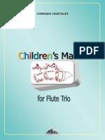 Children's March Score / Flute Trio - score and PS