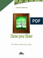 C. Cristaldi / Danse Pour Eloise - for Oboe, Cello and Harp
