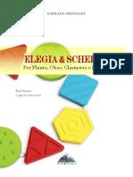 Elegia e Scherzo - for Flute, Clarinet, Oboe, Bassoon - score + PS