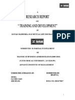 269689446-Kotak-Mahindra-TRAINING-Development.doc