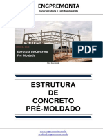 Estrutura de Concreto Pré Moldada