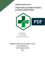 Laporan Pelatihan Kanker (Iva) 2019