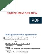 FALLSEM2019-20 CSE2001 TH VL2019201000593 Reference Material I 27-Aug-2019 Module 2 FloatingpointArithemetic