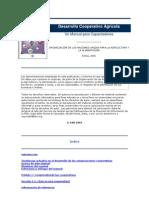 Desarrollo Cooperativo Agrícola libro