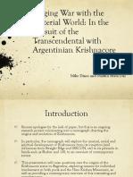Argentina Implicit Religion