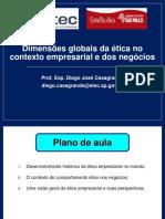 Aula 3 - Dimensões Globais Da Ética No Contexto Empresarial
