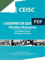 Caderno de Questões - Direitos Humanos
