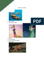 Animales en Maya
