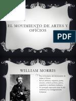 El Movimiento de Artes y Oficios