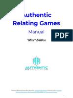Authentic Relating Games Mini Edition