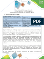 Syllabus Sistemas de Producción Apicola