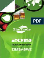 ZimTrade Trade Directory of Zimbabwe 2019