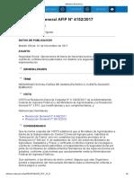 Rg 4152-17 Pago a Cuenta de Contribuciones Patronales Operaciones de Faena de Hacienda Bovina y Bubalina