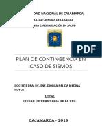 Plan de Contingencia Sismo