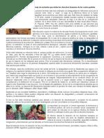 Las Desigualdades Sociales y Formas de Exclusión Que Violan Los Derechos Humanos de Los Cuatro Pueblos