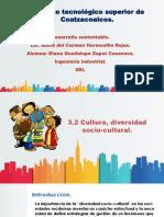 3.2 Cultura, Diversidad Socio-cultural.
