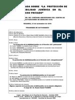 JORNADA CENTRO INVESTIGACIONES de DERECHO CIVIL