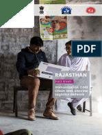 Rajasthan State Immunization Factsheet