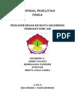 Proposal Penelitian Biologi Pengaruh Msg
