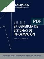 Maestria en Gerencia de Sistemas de Informacion D