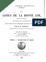 Lotus de La Bonne Loi
