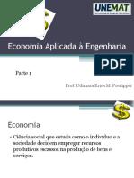 Economia Aplicada à Engenharia - Parte 1 (Notas de Aula) - Prof. Udimara Erica
