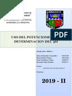 Informe1 Lab de Bioquimica