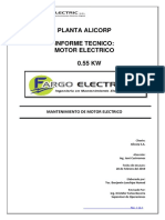 Ot 2222-Its-motor Reductor 0.55 Kw Alicorp
