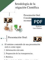 Recomendaciones para la Presentación pucp.ppt