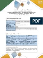 Guía de Actividades y Rúbrica de Evaluación. Unidad 1 Fase 2- Comprender La Importancia de La Danza. Mapa de Conceptualización de La Danza.