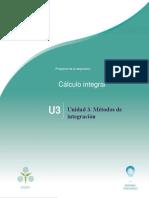 Planeaciones_Cálculo Integral. Unidad 3