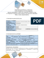Guía de Actividades y Rúbrica de Evaluación. Unidad 2 Fase 3- Proponer La Relación Entre La Danza y Los Procesos Culturales. Video y Texto Argumentativo.