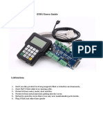 0501-DSP Panel Manual