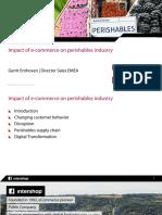 Perishables Industry Roundtable Ecommerce