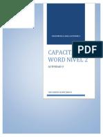 Capacitacion Word Nivel 2