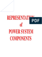 Representation of Power System Components 2 and Faults (2)
